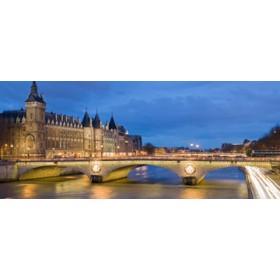 Canvas schilderij Paris II
