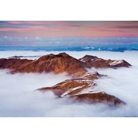 Canvas schilderij Berggipfel I