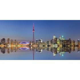 Canvas schilderij Toronto Skyline