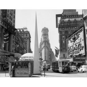 Canvas schilderij Times Square