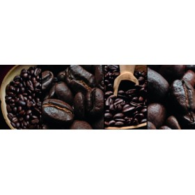 Canvas schilderij caffé