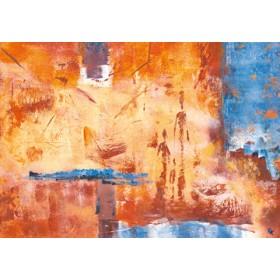 Canvas schilderij Kerzenmenschen I