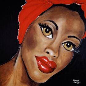 Canvas schilderij Desert Rose