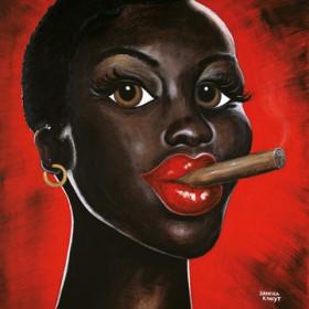 Canvas schilderij Chocolat Noir