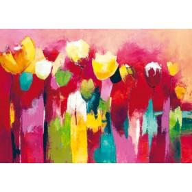 Canvas schilderij Townflowers II