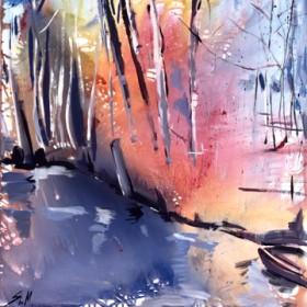 Canvas schilderij Spreewald