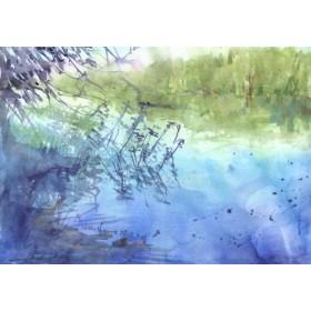 Canvas schilderij Liepnitzsee 1