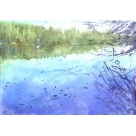 Canvas schilderij Liepnitzsee 2