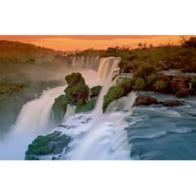 Canvas schilderij Iguazu Waterfall I