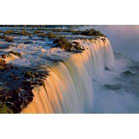 Canvas schilderij Iguazu Waterfall II