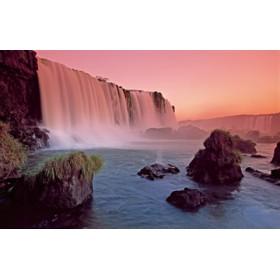 Canvas schilderij Waterfall II
