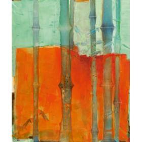 Canvas schilderij Bambus 1