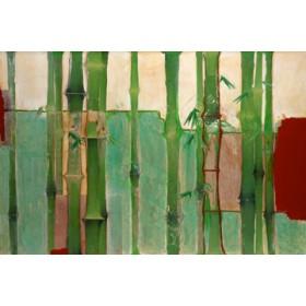 Canvas schilderij Bambus 2