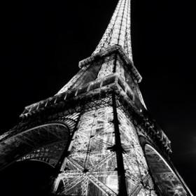 Canvas schilderij Paris Eiffelturm