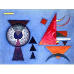Canvas schilderij Weiches Hart