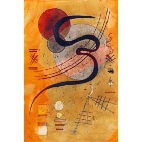 Canvas schilderij Launelinie