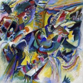 Canvas schilderij Improvisation Klamm