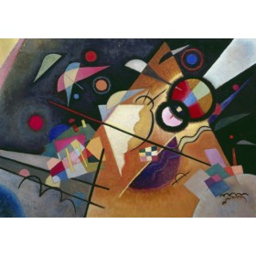 Canvas schilderij Gelbe Spitze