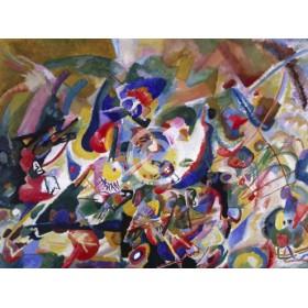 Canvas schilderij Studie zu Komposition VII
