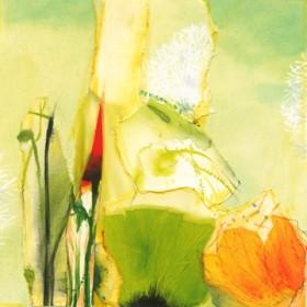 Canvas schilderij Fleuresse I