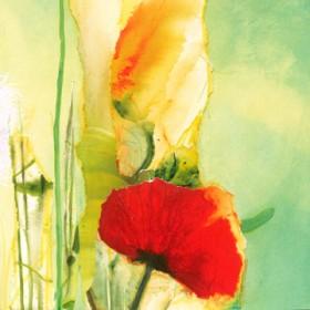 Canvas schilderij Fleuresse III