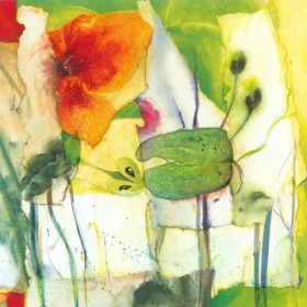 Canvas schilderij Fleuresse IV