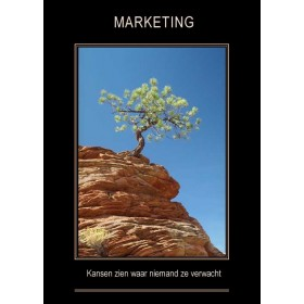 Canvas doek MARKETING