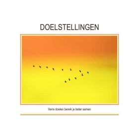 Canvas doek DOELSTELLINGEN