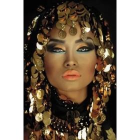 Aluminium schilderij Arabian Princess fotokunst