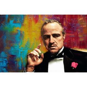 Plexiglas schilderij Colour Godfather fotokunst