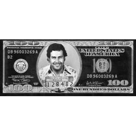 Plexiglas schilderij Escobar Dollar fotokunst