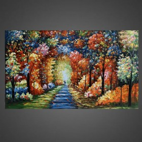 Olieverf schilderij Fairytale 120 x 80 cm