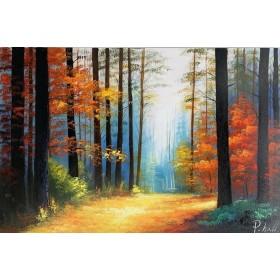 Olieverf schilderij Spring 120 x 80 cm