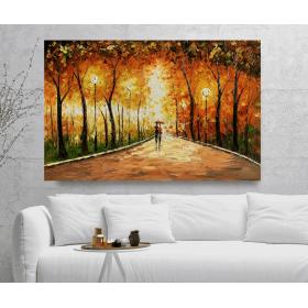 Olieverf schilderij Shining 120 x 80 cm