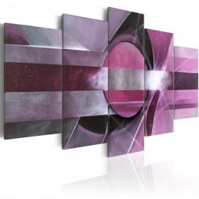 Foto schilderij - Purple abstraction