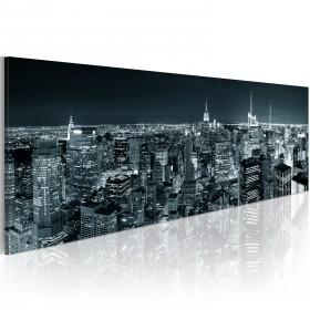 Foto schilderij - Boundless city