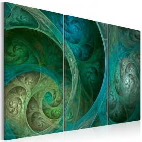 Foto schilderij - Turquoise inspiratie