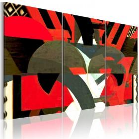 Foto schilderij - Magie - abstracte vormen