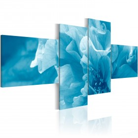 Foto schilderij - Hemelsblauwe azalea