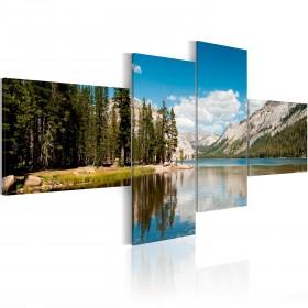 Foto schilderij - Mountain air