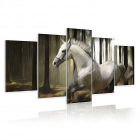 Foto schilderij - Horse running