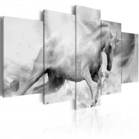 Foto schilderij - The last unicorn