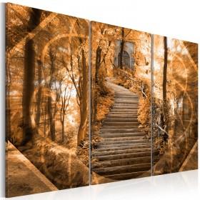 Foto schilderij - Stairway to heaven