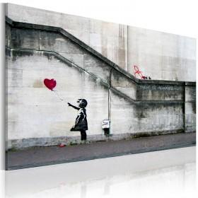 Foto schilderij - There is always hope (Banksy)