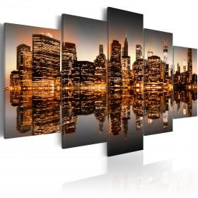 Foto schilderij - Geïnspireerd NYC - 5 stuks