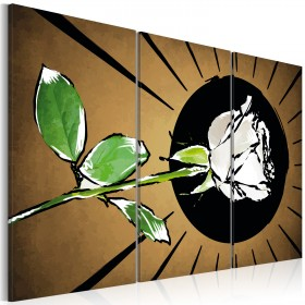 Foto schilderij - Rose brightness