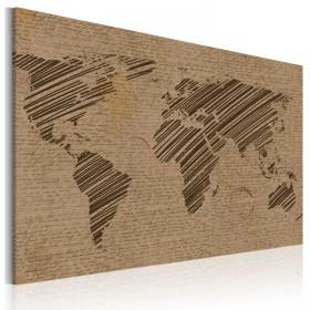 Foto schilderij - Opmerkingen van de Wereld