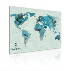 Foto schilderij - Avian migratie