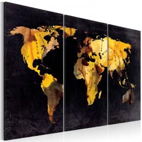 Foto schilderij - Als de wereld was een woestijn ... - Drieluik