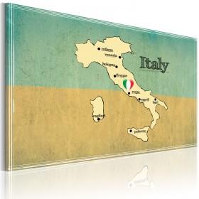 Foto schilderij - Hart van Italië